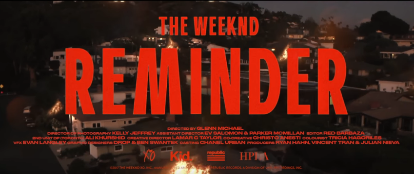 The Weeknd - Remember